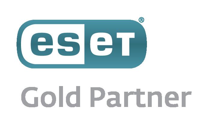 ESET Gold Partner Logo groß